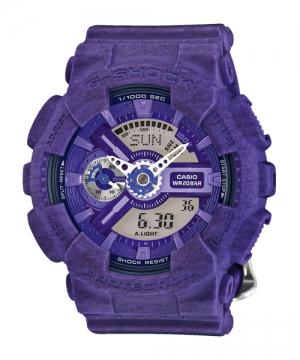 國外代購 CASIO G-SHOCK 縮小系列 GMA-S110HT-6A 紫針織紋 防水 手錶 腕錶 電子錶 男女錶