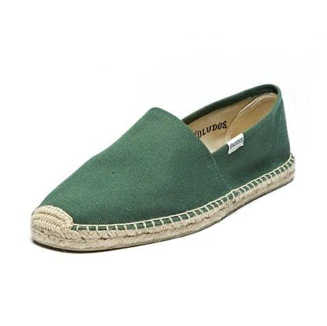 【蟹老闆】Soludos【現貨】歐美品牌 懶人鞋 休閒鞋 素面 草編鞋 Dali hunter green