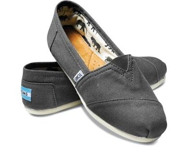 TOMS Canvas Classics 素面灰色平底鞋 現貨+預購