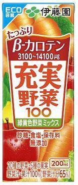 伊藤園充實野菜汁-黃綠色野菜 200ml
