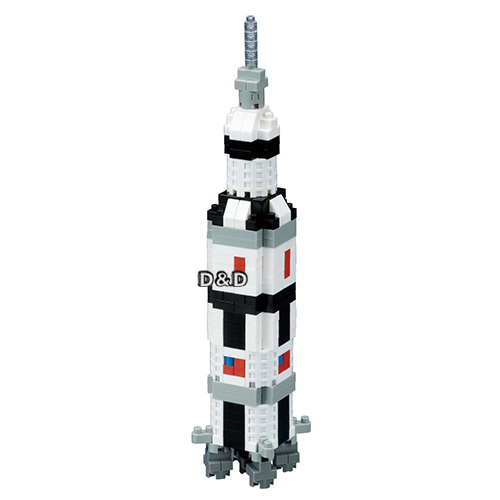 《 Nano Block 迷你積木 》NBH - 130 土星 V 火箭