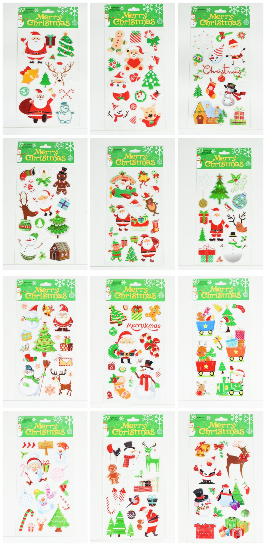 X射線【X389818】PVC聖誕貼,聖誕節/貼紙/聖誕佈置/聖誕造景/聖誕裝飾/玻璃貼/牆面佈置/壁貼/靜電貼