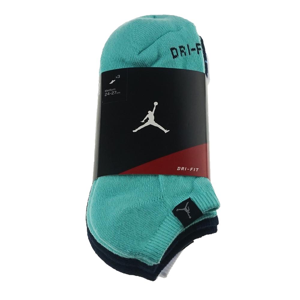 有感促銷350元 NIKE 耐吉 JORDAN DRIFIT NO-SHOW 3PK 休閒運動襪  546479391 Big-O Sports