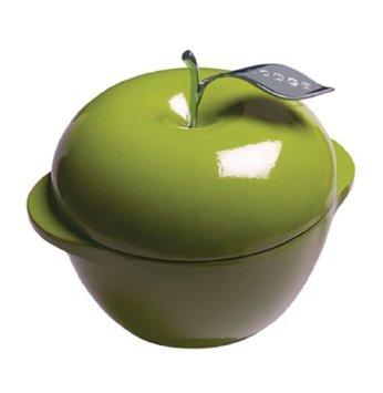 【鄉野情戶外專業】 Lodge |美國|  8吋 綠蘋果琺瑯鍋 鑄鐵琺瑯鍋 不沾鍋 (免開鍋免養鍋) -綠 _E3AP50