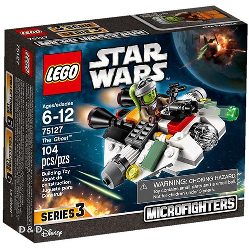 樂高積木LEGO《 LT75127 》2016 年 STAR WARS 星際大戰系列 - The Ghost™