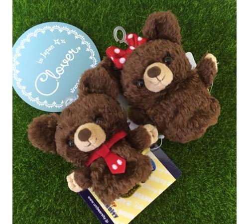 現貨-日本 Disney 大學熊 / 米妮 手指娃娃 超可愛