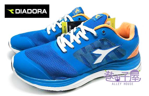 【巷子屋】義大利國寶鞋-DIADORA迪亞多納 男款無縫TPU超彈力抗壓輕量跑鞋 [9926] 藍 超值價$590
