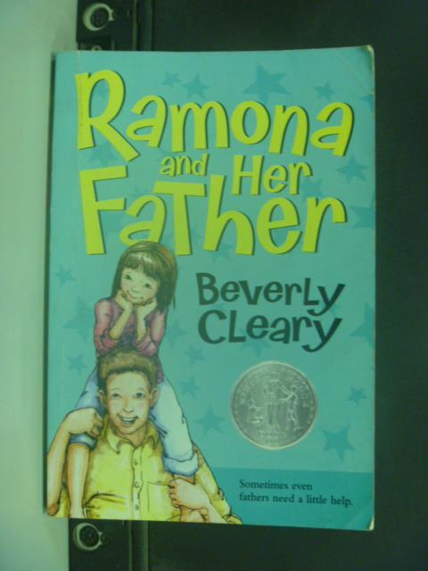 【書寶二手書T1/原文小說_IBJ】Ramona and her father_CLEARY, BEVERLY