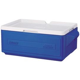 桃源戶外 Coleman Party Stacker Cooler 23.5L 行動冰箱 藍 CM-1326J 宴會|