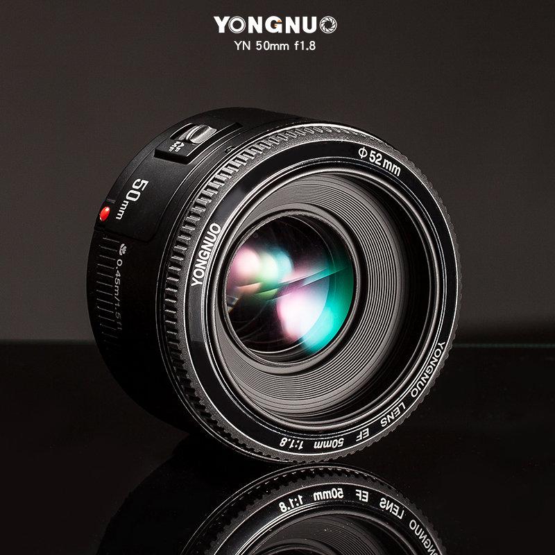 [享樂攝影] 送鏡頭袋! 永諾 Yongnuo YN 50mm F1.8 for Canon 單眼人像鏡頭 EF EOS 人像鏡 標準鏡 kit 50 1.8