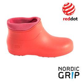 Nordic Grip 北歐防滑保暖雨靴│雨鞋│雪鞋 (榮獲德國紅典設計獎) 淘氣粉 NG10B