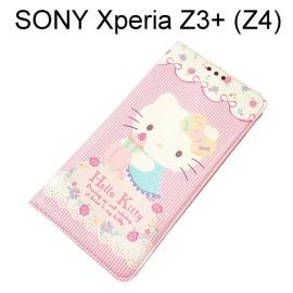 Hello Kitty 彩繪皮套 [甜點] SONY Xperia Z3+ / Z3 Plus (Z4)【三麗鷗正版授權】
