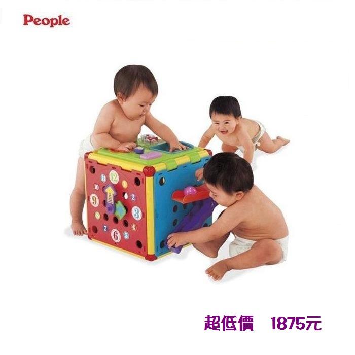 *美馨兒*日本 People -動動腦力體力玩具箱 1875 元