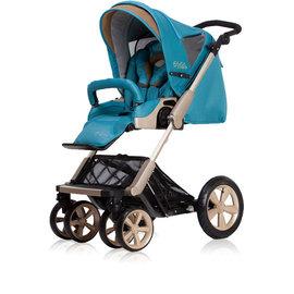 【淘氣寶寶】2015年 歐系車款 Zooper 旗艦頂級嬰兒車 Flamenco (福朗明哥)-多瑙藍