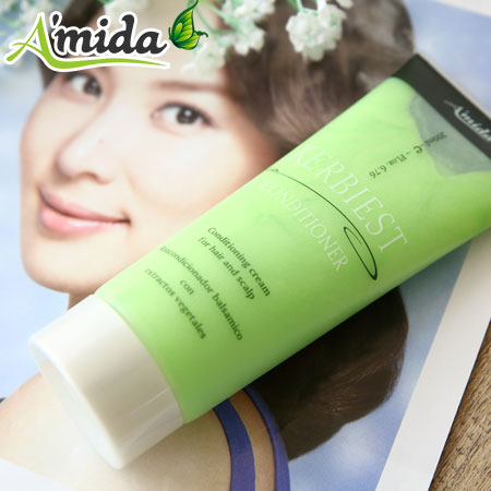 Amida 葉綠素 (頭皮.髮) 調理素 200ml 專業美髮沙龍用【N100444】