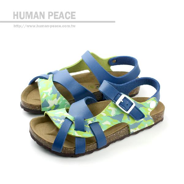 G.P(Gold.Pigon) 涼鞋 藍綠 中童 no583