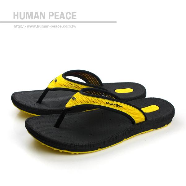 G.P (GOLD.PIGEON) 拖鞋 黃 男款 no618