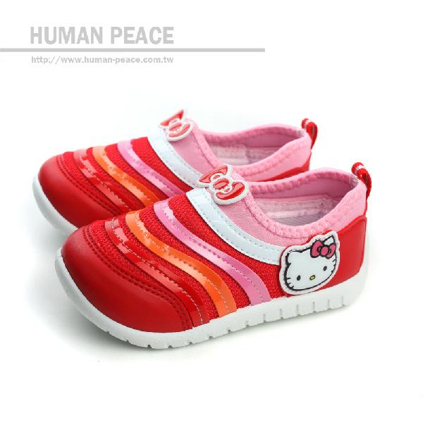 Hello Kitty 凱蒂貓 KITTY 懶人鞋 紅 小童 no602