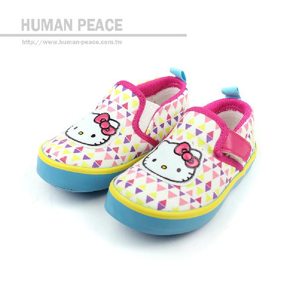 Hello Kitty 凱蒂貓 KITTY 懶人鞋 白 小童 no608
