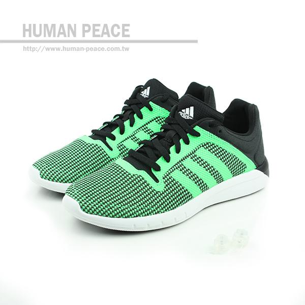 adidas cc fresh 2 跑鞋 黑/綠 大童 no038