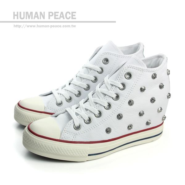 CONVERSE Chuck Taylor All Star Lux 內增高 舞蹈運動鞋 戶外休閒鞋 白 女款 no114