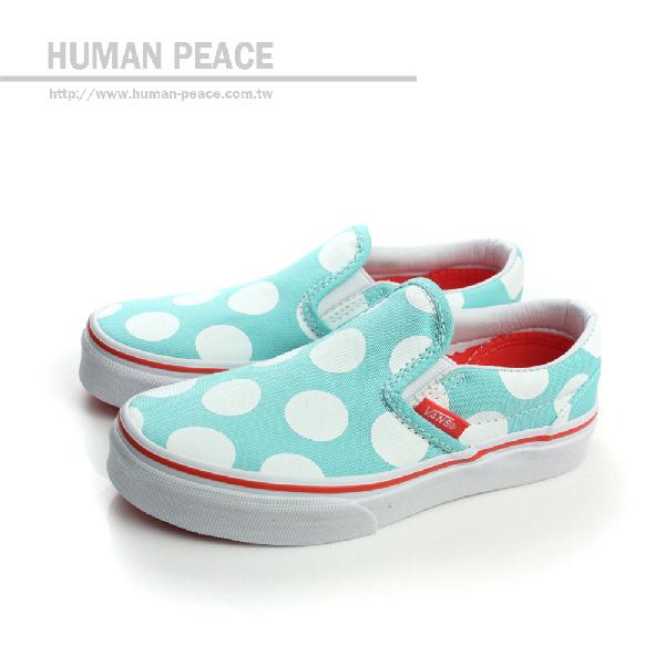 VANS Classic Slip-on 懶人鞋 戶外休閒鞋 藍 中童 no397