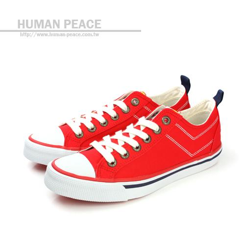 PONY shooter Dickies聯名 紡織布鞋面 橡膠鞋底 舒適 戶外休閒鞋 紅 女款 no123