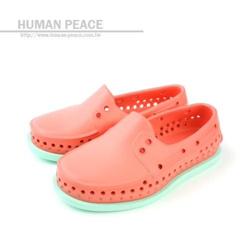 native HOWARD CHILD 輕量 舒適 防水 好穿脫 水陸兩用鞋 洞洞鞋 戶外休閒鞋 桔色 中童 no224