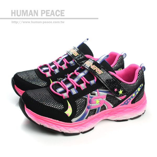 SKECHERS GROOVIES 童鞋 運動鞋 戶外休閒鞋 黑 童 no147