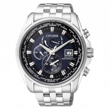 CITIZEN 電波時計光動能錶/AT9031-52L