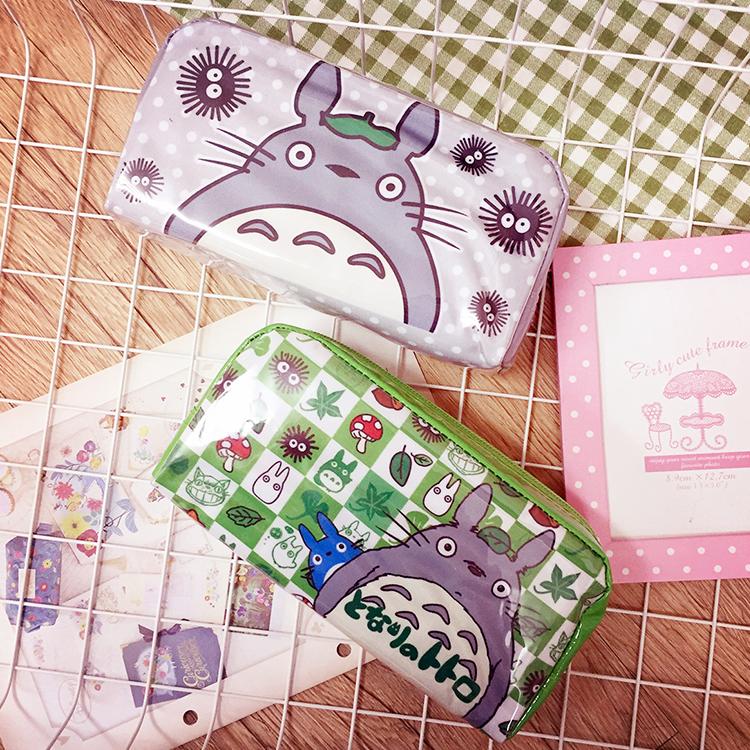 PGS7 日本卡通系列商品 - 龍貓 系列 亮皮 萬用收納包 筆袋 鉛筆盒 Totoro 吉卜力 宮崎駿