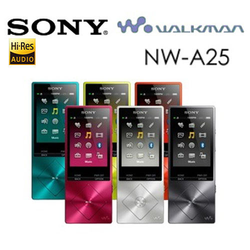 SONY Walkman NW-A25  Hi-Res高解析音樂播放器 16GB