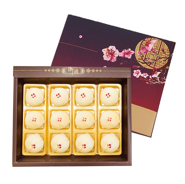 手工綠豆椪禮盒(12入) 中秋節 月餅 禮盒 需五天前預訂 布里王子