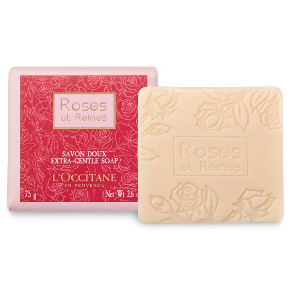 L'Occitane 歐舒丹 玫瑰皇后香氛皂 75G【巴黎好購】