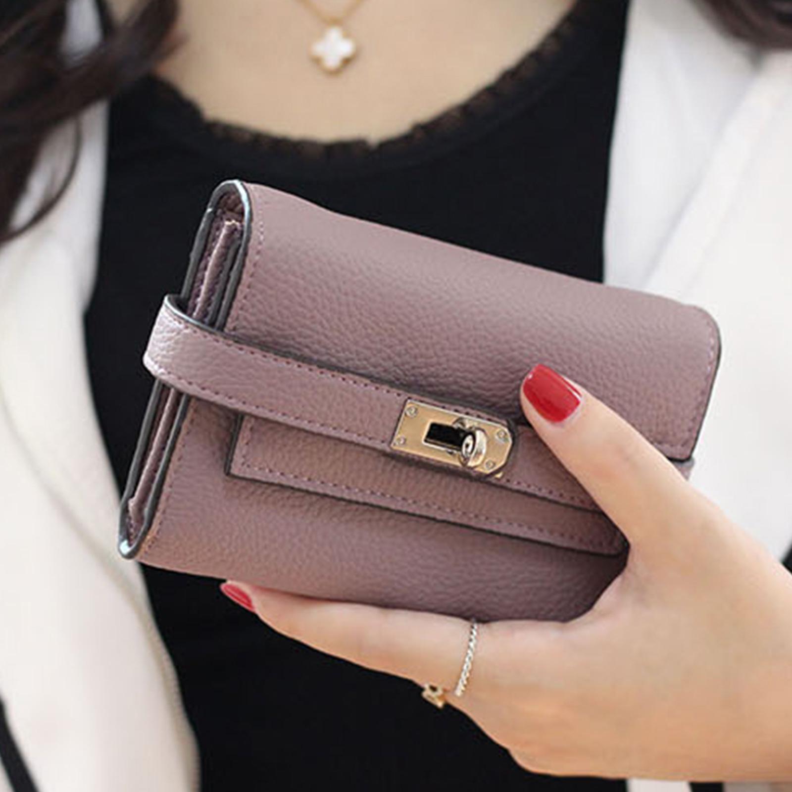皮夾 錢包 紐扣三層零錢中夾短夾【O3218】☆雙兒網☆
