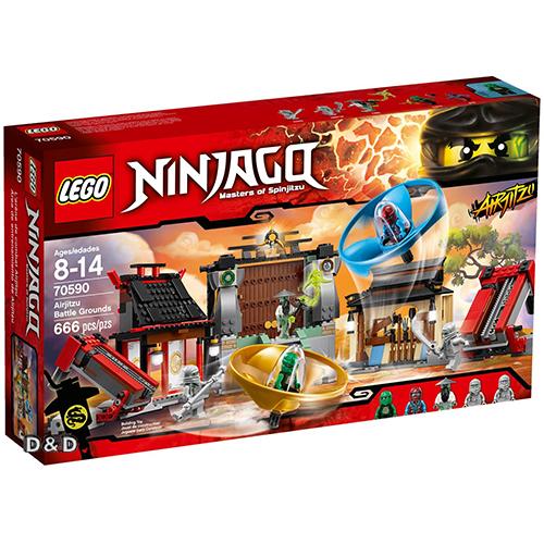 樂高積木LEGO《 LT70590 》NINJAGO 旋風忍者系列 - 飛天忍者競技試煉場