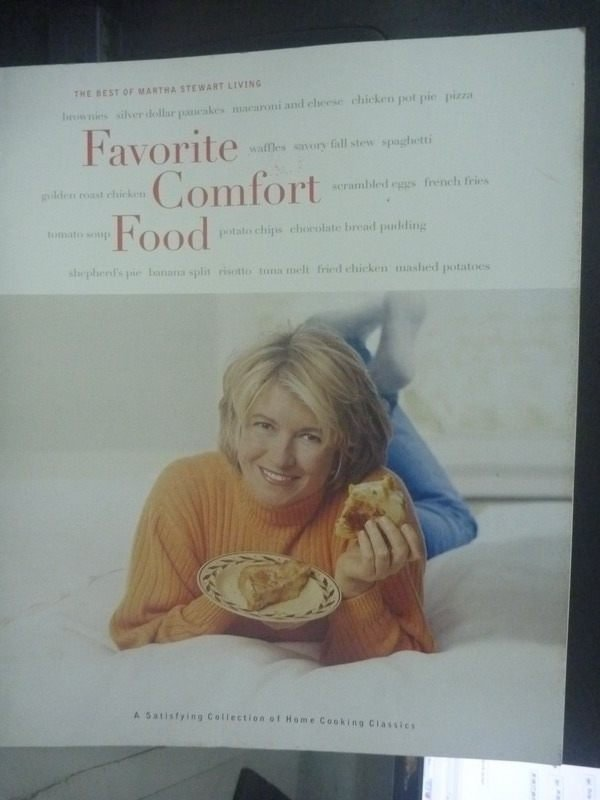 【書寶二手書T6/餐飲_ZEM】Favorite Comfort Food: A Satisfying