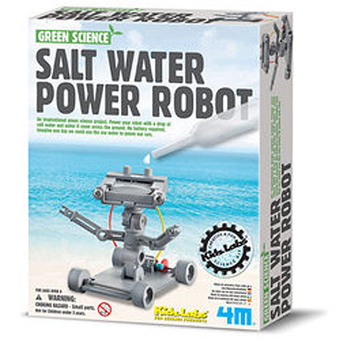 【4M 創意 DIY】tcheGreen Science-Salt Water Power Robot氯化鈉機器人