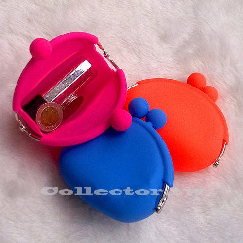 【G13080202】糖果色矽膠零錢包 馬卡龍色零錢包 果凍矽膠包