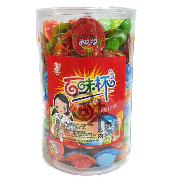 (馬來西亞) 百味杯 1罐 600 公克 (2.5公克x240入) 特價 195 元 (膏狀養樂多)