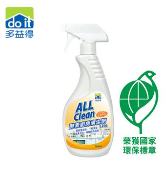 多益得 All Clean酵素廚房清潔劑榮獲國家環保標章Lite ( 500ml ) AC015