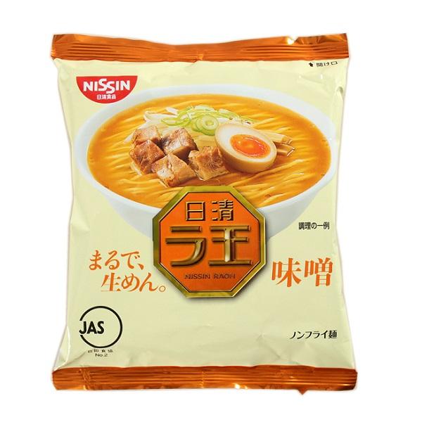 【糖果王】日本日清 拉麵王 (味噌口味) 單包 日本男星 西島秀俊 代言