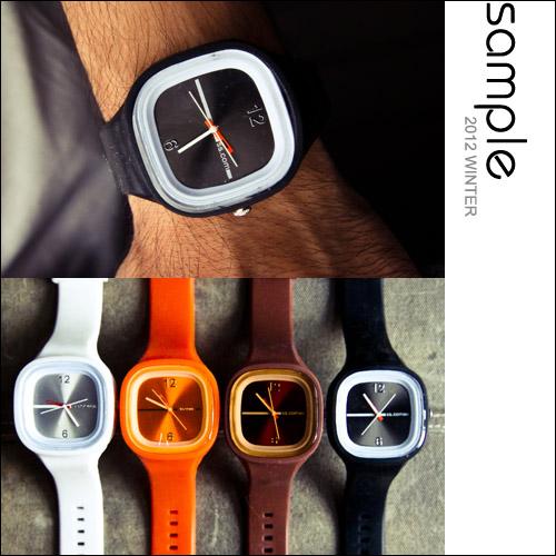 時尚手錶【Sample】極簡設計矽膠錶帶多色糖果手錶【SA3808】- 附精美錶盒