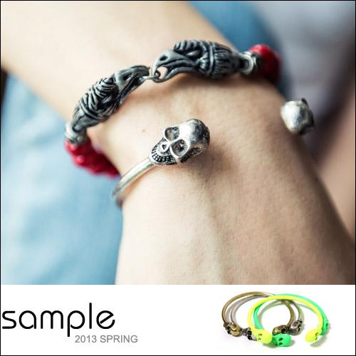 手環【Sample】骷魯頭C型手環【SA4623】
