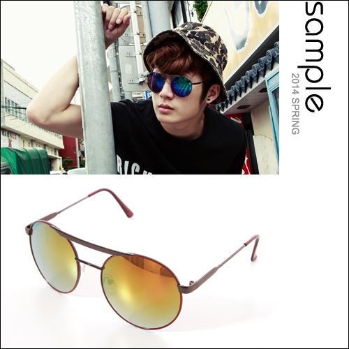 墨鏡【Sample】飛行員款金屬框水銀太陽眼鏡【SA7924】