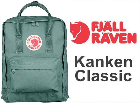瑞典 FJALLRAVEN KANKEN  Classic 664 Frost Green 霜綠 小狐狸包