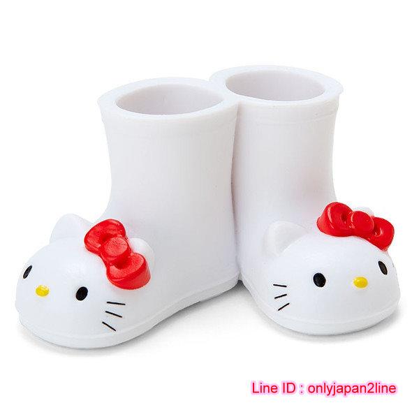 【真愛日本】16110800005迷你靴子造型多用途置物架-KT   三麗鷗 Hello Kitty 凱蒂貓  收納架  牙刷架  限量