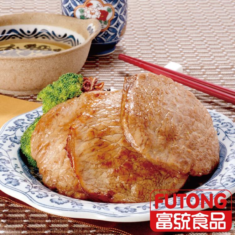 《缺貨中》【富統食品】烤肉趣 - 照燒肉排 (40g/片;10片/包)