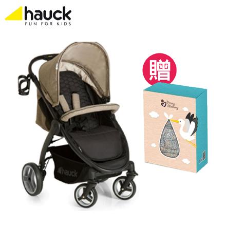 【悅兒園婦幼生活舘】hauck lift up 4 手推車-摩卡可可【贈penny mommy嬰兒多用途座墊(小花款)x1】