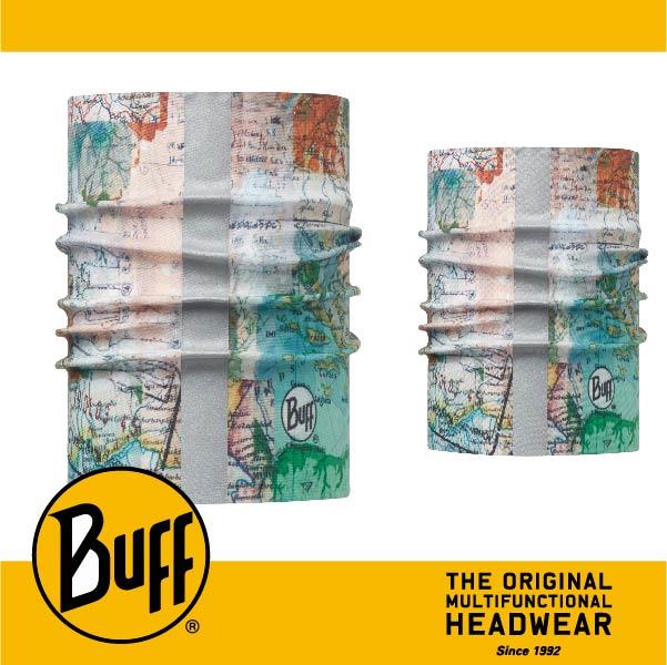 BUFF 西班牙魔術頭巾 寵物頭巾系列 BF113122-555-20 寵物反光頭巾S/M 歷險啟程